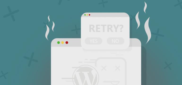 Thủ thuật sửa lỗi trắng trang trong WordPress mới 2020