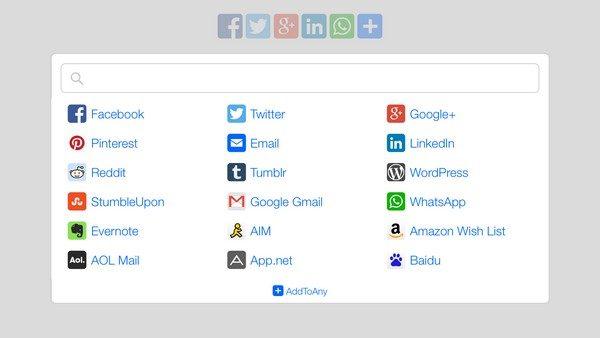 Chèn nút chia sẻ mạng xã hội cho WordPress bằng Plugin