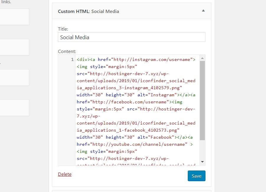 Cách để thêm icon mạng xã hội vào WordPress